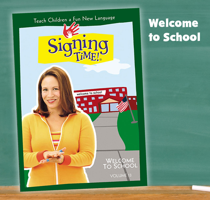 Signing Time Welcome to School, Baby Sign Language Videos
